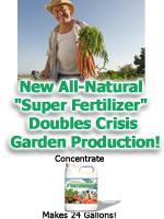 Include Protogrow Fertilizer as part of your survival gear along with your vegetable seed supply