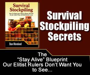 survival foods stockpiling secrets